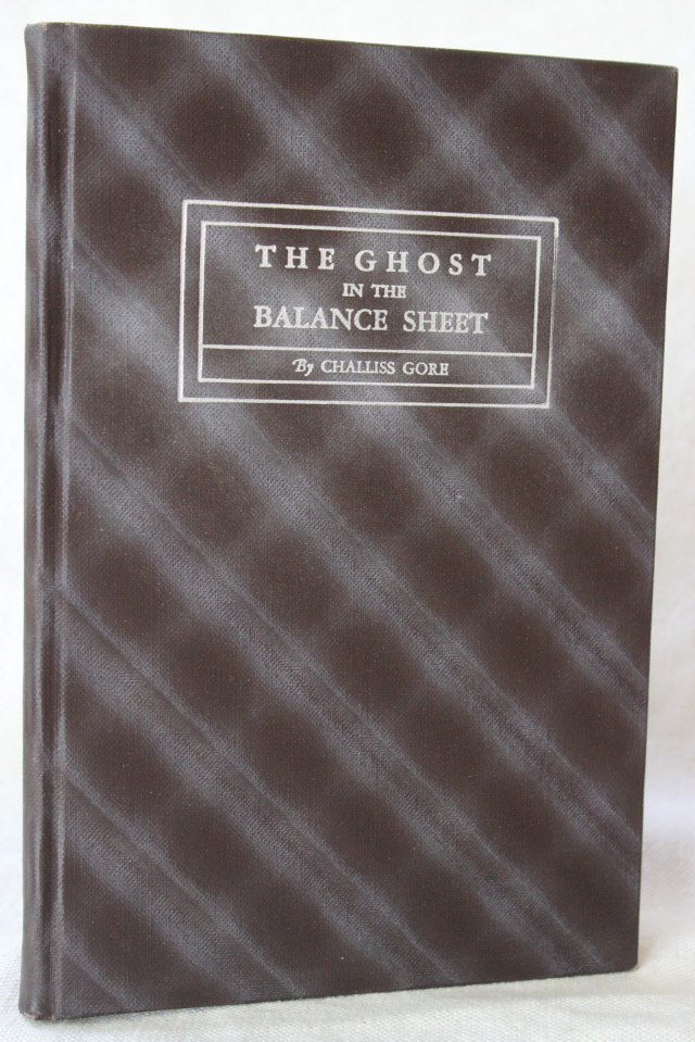Image for The Ghost in the Balance Sheet