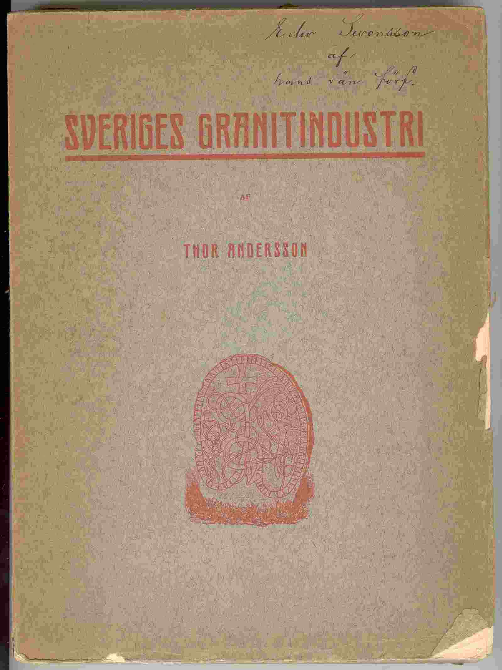 Image for Sveriges Granitindustri (Swedish Granite Industry)