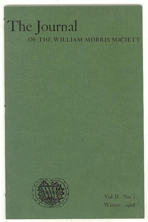 Image for The Journal of the William Morris Society (Vol. II, No. 3, Winter 1968)