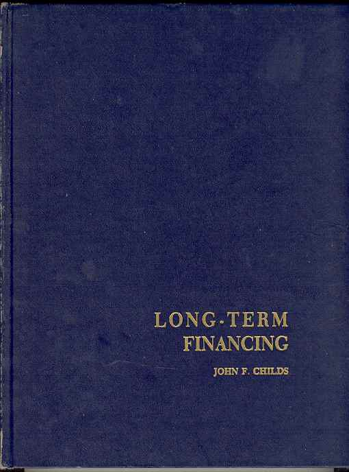 Image for LONG-TERM FINANCING