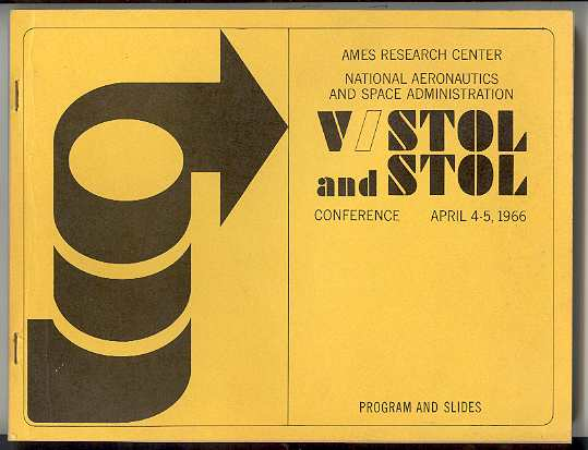 Image for V/STOL and STOL Conference, April 4-5, 1966, Program and Slides