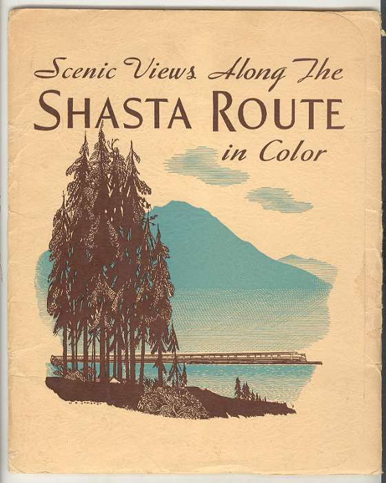 Image for Scenic Views Along the SHASTA ROUTE in Color