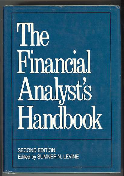 Image for The Financial Analyst's Handbook