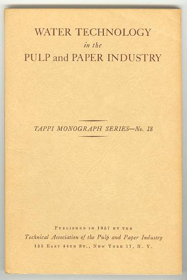 Image for WATER TECHNOLOGY in the PULP and PAPER INDUSTRY