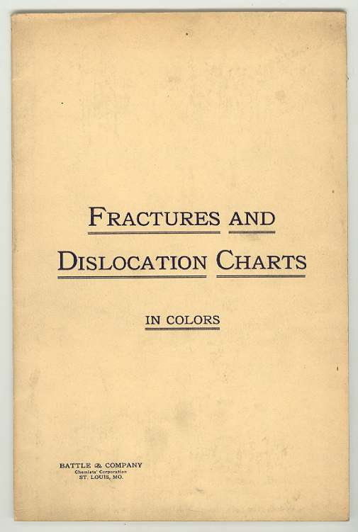 Image for FRACTURES AND DISLOCATION CHARTS in Colors