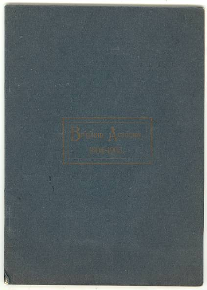 Image for CATALOGUE of BRIGHAM ACADEMY, Bakersfield, Vermont, 1904-1905, Twenty-Sixth Year