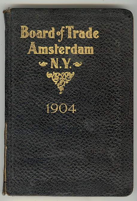 Image for Official Manual of the Board of Trade, Amsterdam, New York, 1904
