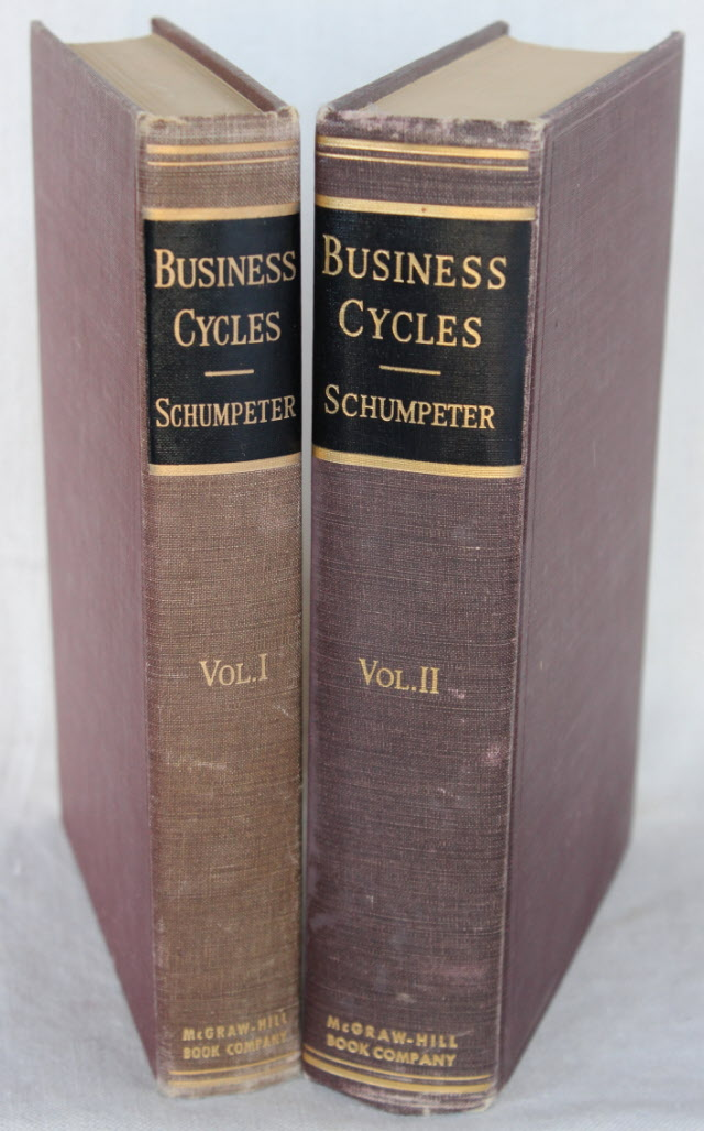 Image for BUSINESS CYCLES: A Theoretical, Historical, and Statistical Analysis of the Capitalist Process (Set complete in two volumes)