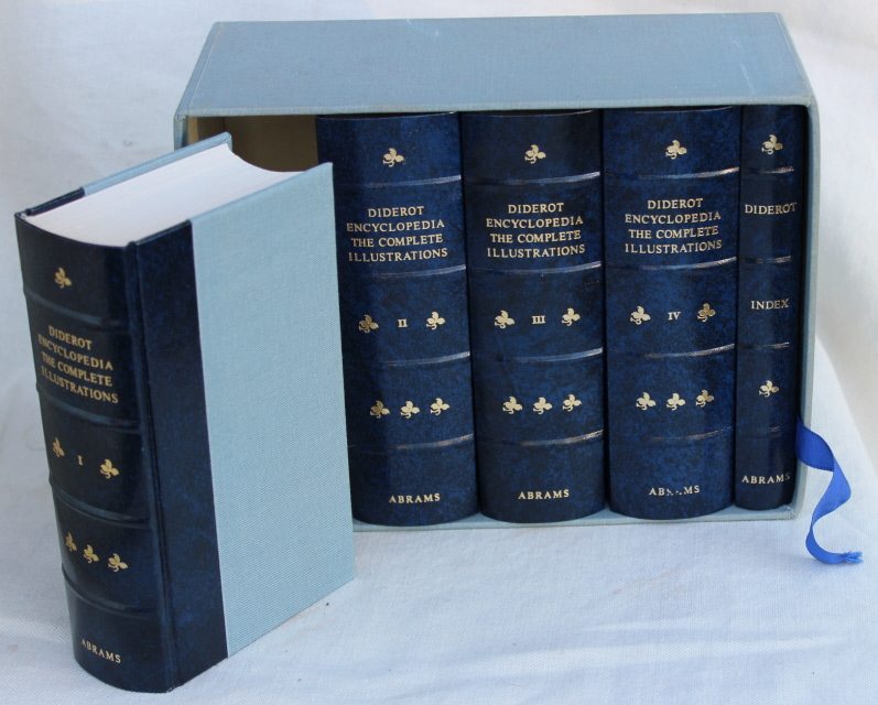 Image for DIDEROT ENCYCLOPEDIA: The Complete Illustrations 1762-1777 (Five volumes in slipcase)
