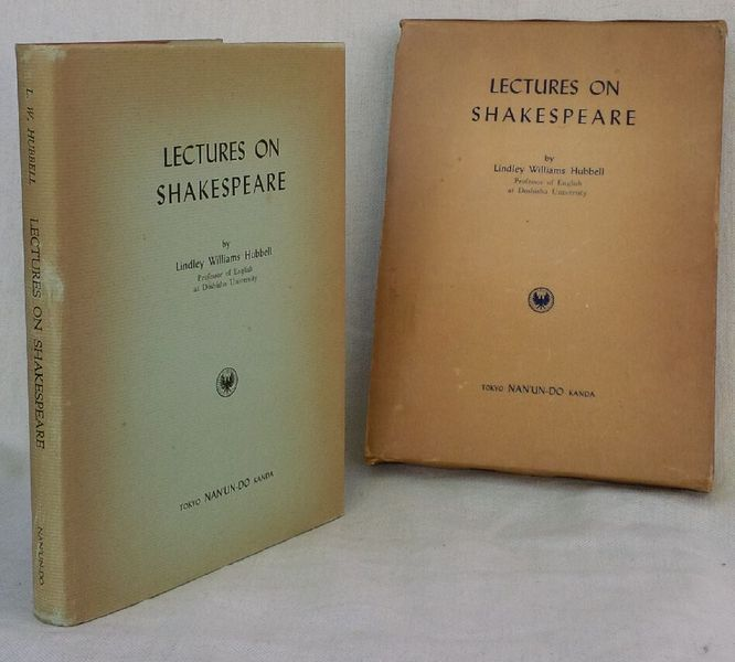 Image for Lectures on Shakespeare