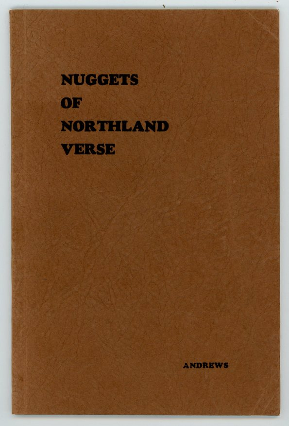 Image for [Alaska] [Poetry] NUGGETS of NORTHLAND VERSE: Panned from The Gravels of the Past
